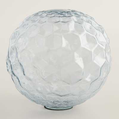Medium Gray Glass Sphere Decor - World Market/Cost Plus