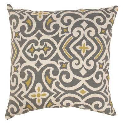 New Damask Polyester Throw Pillow - Wayfair