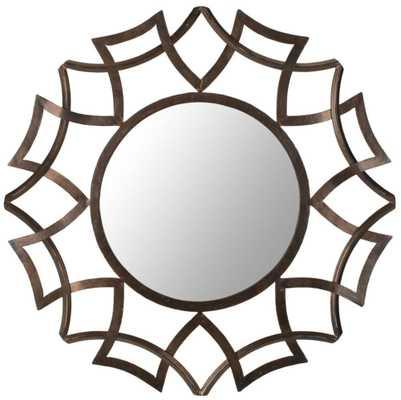 Sunburst Mirror - Domino