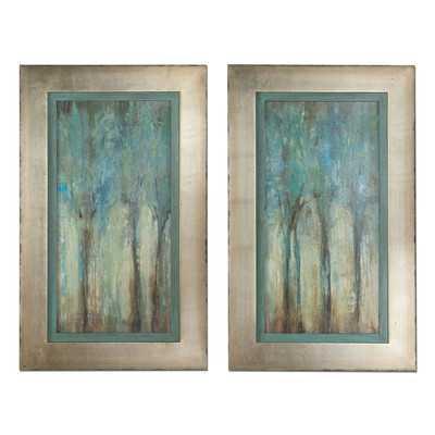 Whispering Wind Framed Original Painting - Wayfair