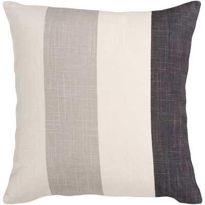Striking Stripe Throw Pillow, down fill - AllModern