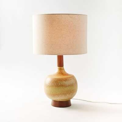 Modernist Table Lamp - Mustard - West Elm