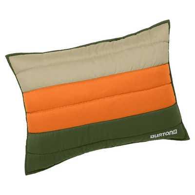 Burton Colorblock Standard Sham, Green/Orange - Pottery Barn Teen