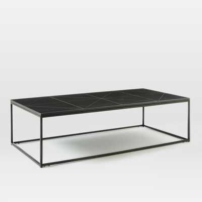 Etched Granite Coffee Table - West Elm