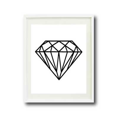 "Diamond Art Print - 11"" x 14"" - Unframed - Etsy"