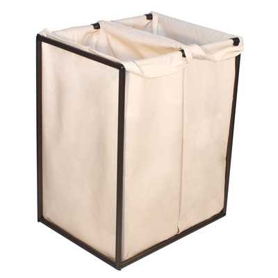 Double Hamper with Bag - Wayfair