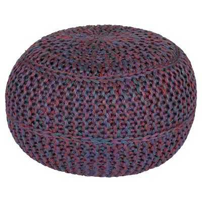 Kylie Knotted Sphere Pouf - Target