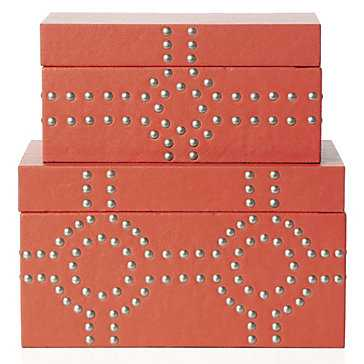 Bodega Storage Boxes, Set of 2 - Z Gallerie