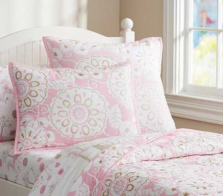 Paige Unicorn Sheet Set - EXTRA PILLOWCASE - Pottery Barn Kids