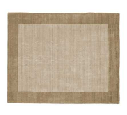 Henley Rug - Taupe - Pottery Barn