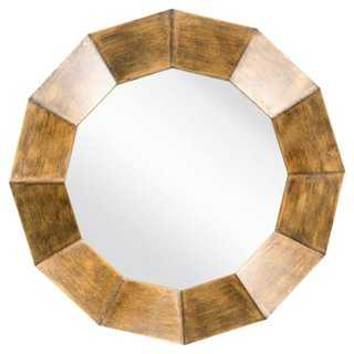 Faceted Wall Mirror - One Kings Lane