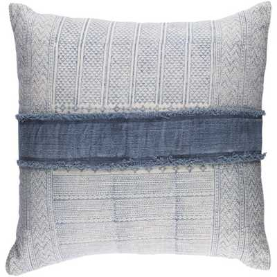 PORTLAND PILLOW, DENIM - Lulu and Georgia