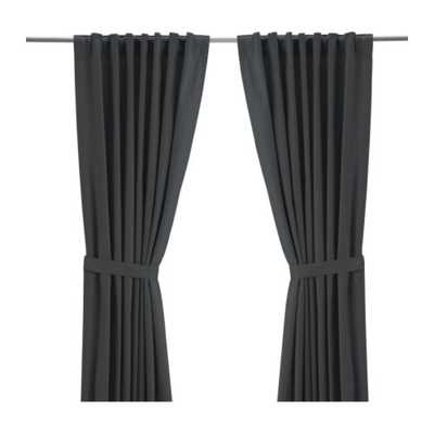 "RITVA Curtains with tie-backs - 57 x 98"" - Ikea"