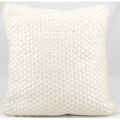 Woven Luster Throw Pillow with insert - AllModern