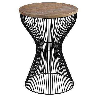Marxim Round End Table - Black - Target