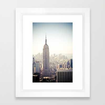 New York City, Empire State Building - Society6