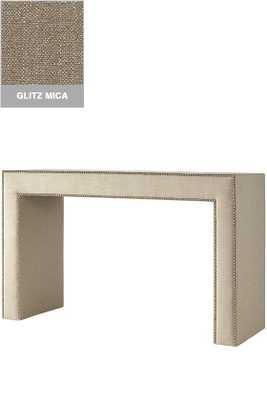EMERY CONSOLE TABLE - Glitz mica, Shiny chrome - Home Decorators