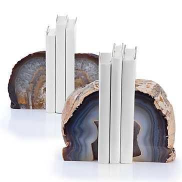 Agate Bookends - Z Gallerie