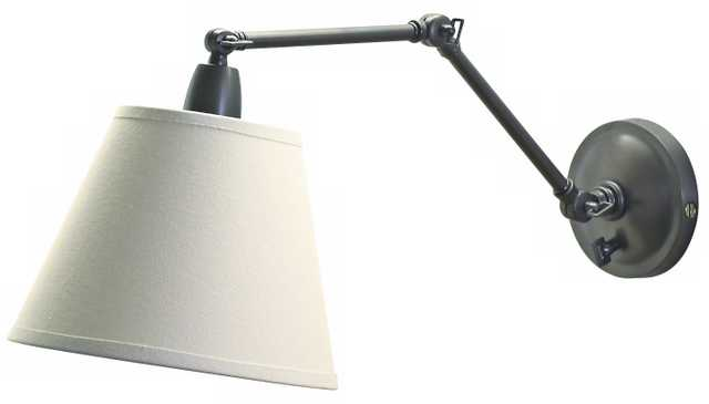 Delcourt Plug-In Swing Arm Wall Lamp - Lamps Plus
