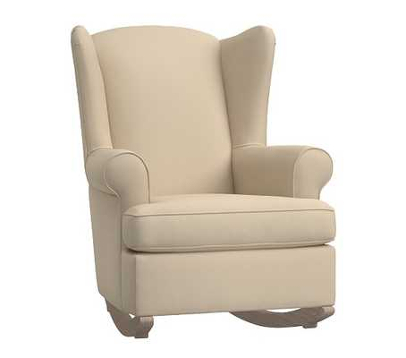 Wingback Convertible Rocker & Ottoman - Pottery Barn Kids