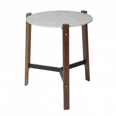 Free Range Side Table - Marble - Domino