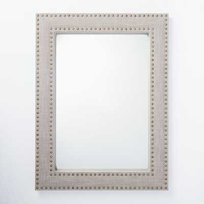 Upholstered Wall Mirror - West Elm