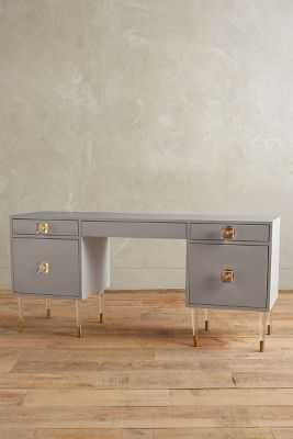 Lacquered Regency Desk - Anthropologie