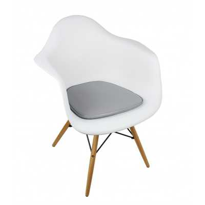 Seat Pad / Cushion for Eames Style Plastic Dining and Armchair - emoderndecor.com