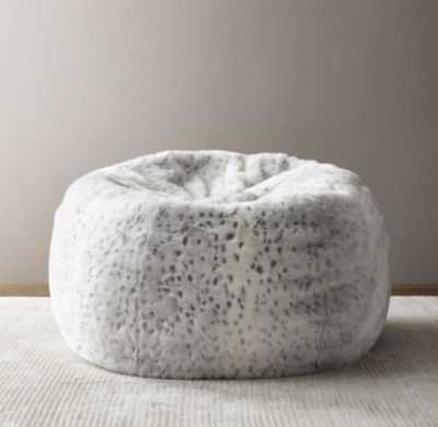 Luxe faux fur bean bag - RH Baby & Child