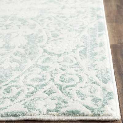 Safavieh Passion Turquoise/ Ivory Rug (9' x 12') - Overstock