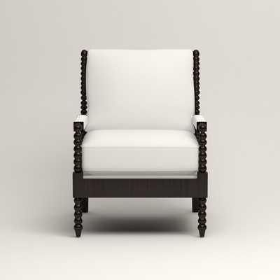 Henderson Chair - Griffin Pure White Twill - Birch Lane