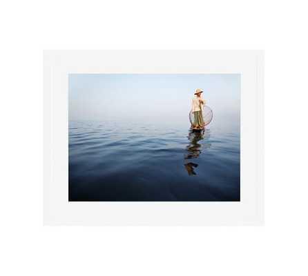 Fisherman, Myanmar by Jesse Leake - Pottery Barn