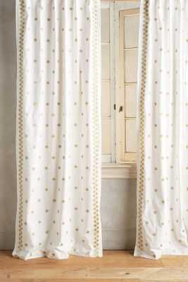 "Hallina Diamonds Curtain - 63"" - Anthropologie"