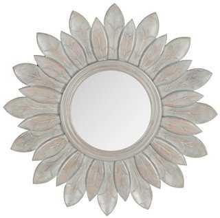 Lotus Sunburst Wall Mirror - One Kings Lane