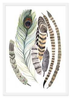 Michelle Morin, Feathers - One Kings Lane