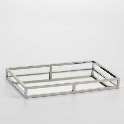 Rectangular Mirrored Tray by Zodax - Small - AllModern