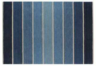 Drancy Rug, Blue - One Kings Lane