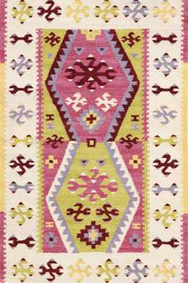 BOHEMIAN WOOL WOVEN RUG - 3x5 - Dash and Albert