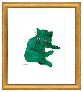 Andy Warhol, Green Cat - One Kings Lane
