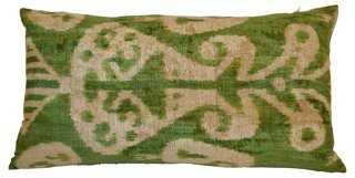 Fika 16x24 Silk-Blend Pillow - One Kings Lane