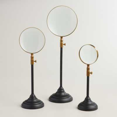 Glass Magnifier on Stand - Large - World Market/Cost Plus
