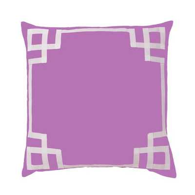 "BERRY DECO PILLOW - 26""X26"" - no insert - Caitlin Wilson"