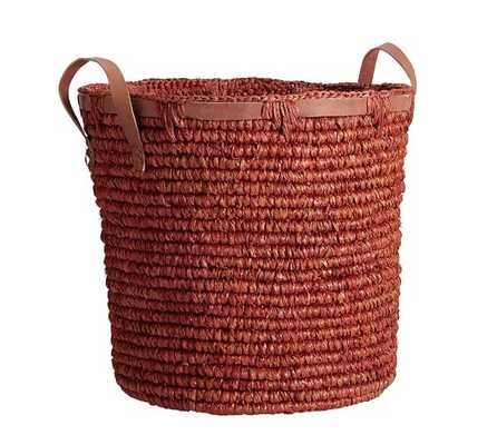 DYED SISAL TOTE BASKETS-RUST - Pottery Barn