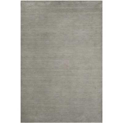Safavieh Hand-loomed Himalaya Grey Wool Rug (6' x 9') - Overstock