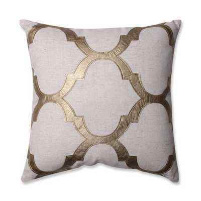 Perfect Glitz Throw Pillow - 16x16, With Insert - Overstock