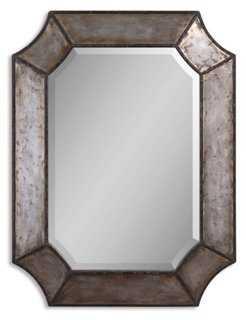 Annecy Wall Mirror, Rustic - One Kings Lane