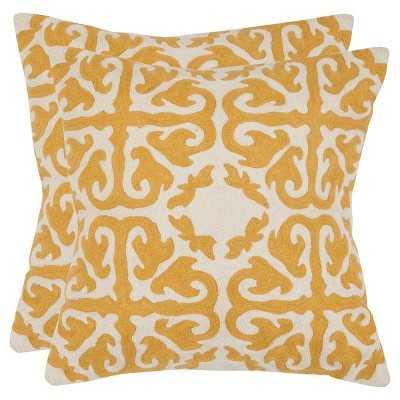Safavieh 2 Pack Moroccan Pillow - Target