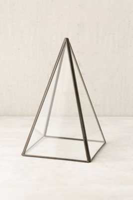 Pyramid Glass Cloche - Urban Outfitters