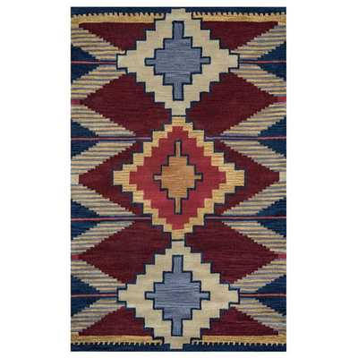 Rizzy Home Southwest Collection SU9010 Accent Rug (9' x 12') - Overstock