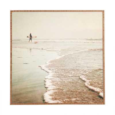 SOUL SURFER - 20x20, Framed - Wander Print Co.